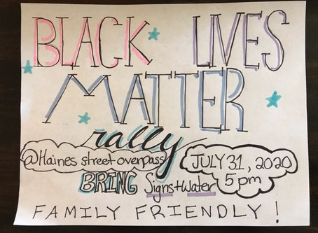 EVENT: Rally at Haines St Overpass