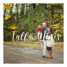Family Fall limited edition sessions