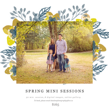 Spring Family sessions- Now booking