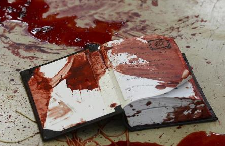 Slaughter in a Synagogue