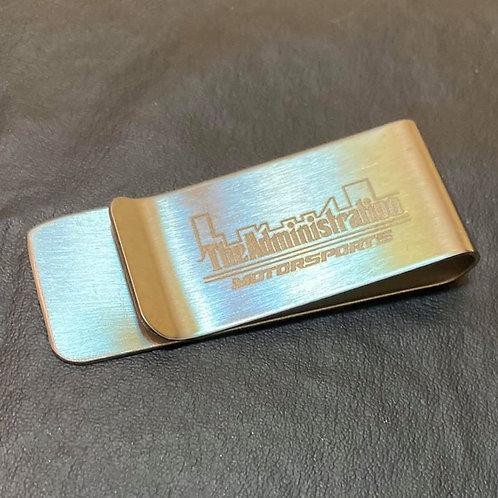 Engraved Logo Money Clip