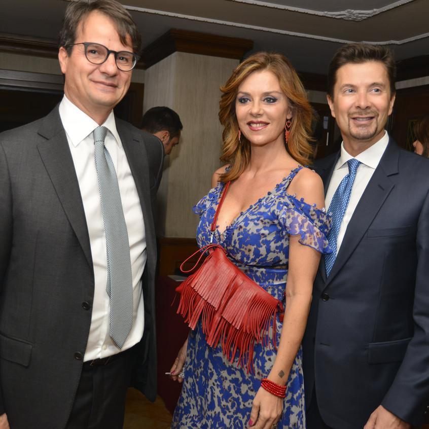 Sergio Rizzo, Barbara Benedettelli, Riccardo Signoretti-min