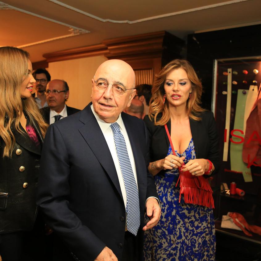 Adriano Galliani, Barbara Benedettelli-min