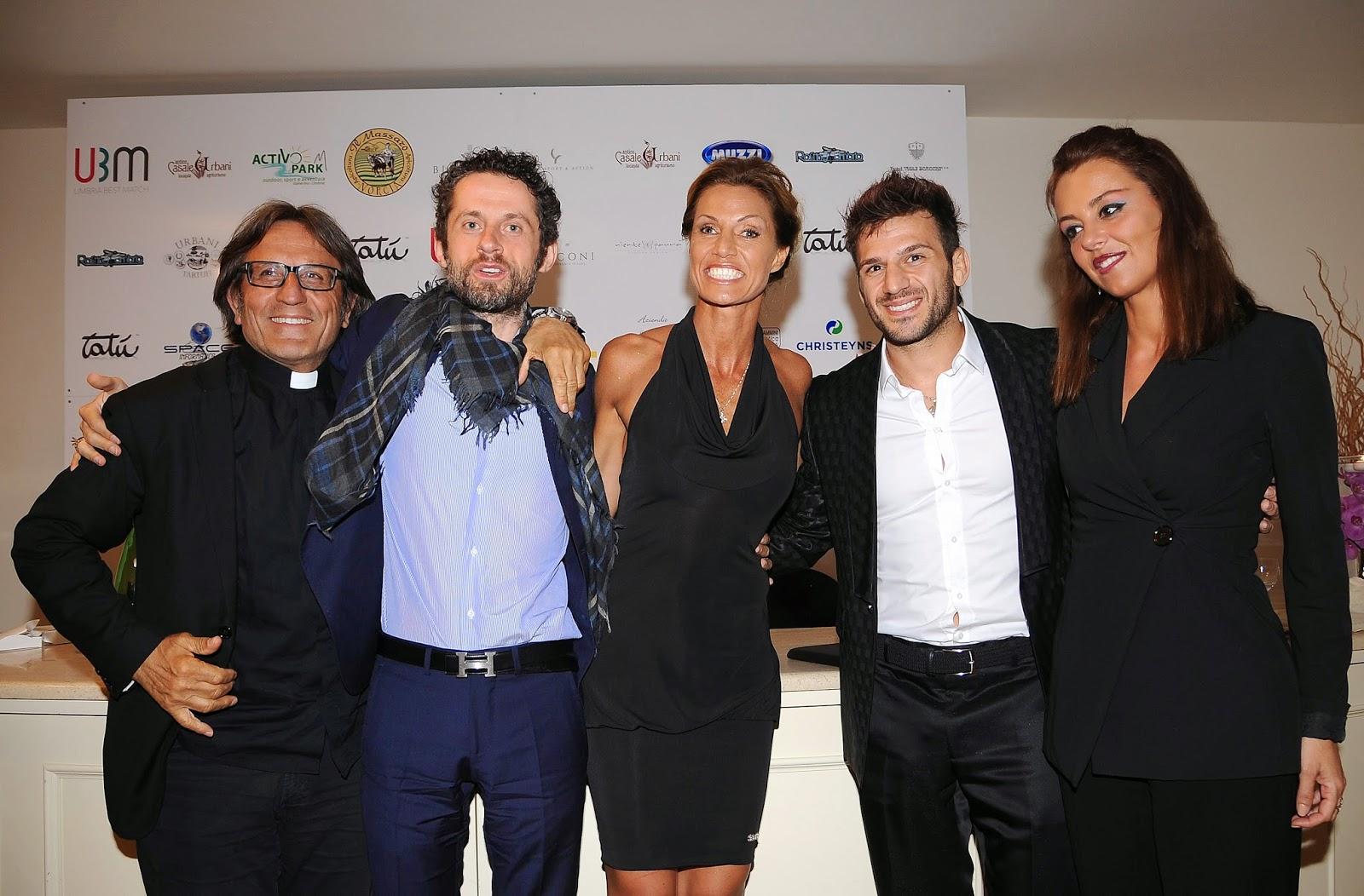 Benedettelli, Don Aniello, Fabio Salvatore, Annalisa Minetti, Marco Maddaloni