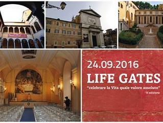 Uno spazio di riflessione per celebrare la Vita - Life Gate 2016