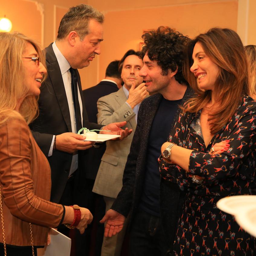 Claudio Brachino e Piero salvatori