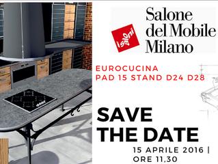 Salone del Mobile: Cristina Chiabotto e lo chef Davide Sabin per Gatto Cucine