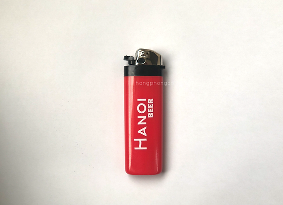 Hộp Quẹt Gas Bầu Quảng Cáo
