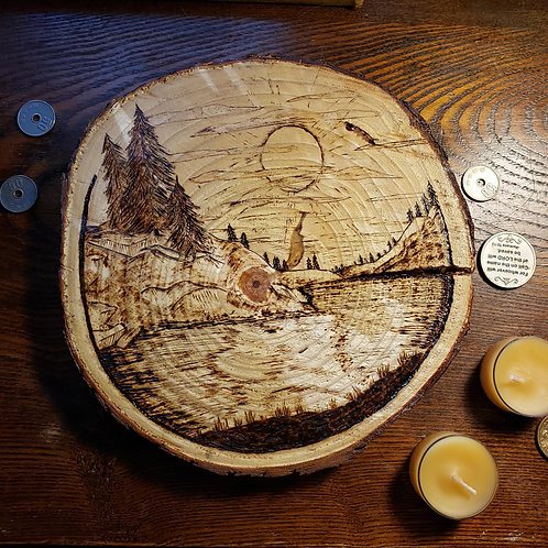 Lakeside Pine Plaque (currently available at Artistic Bean FS AR)