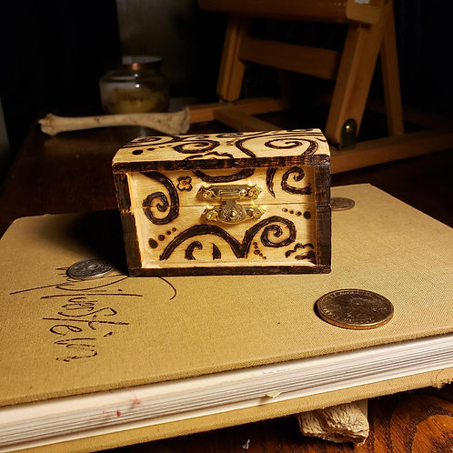 Swirled Jewelry Box (Small)