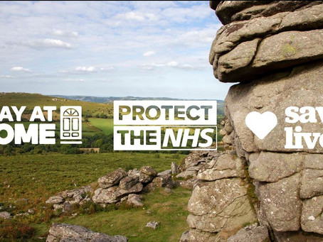 Thank you for staying safe, says Dartmoor National Park