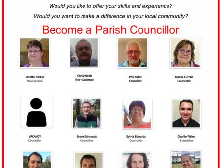 Casual Vacancy on Hennock Parish Council