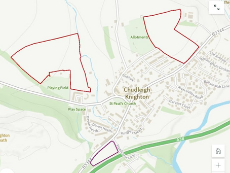 Hennock Parish Council's Consultation about Teignbridge's Draft Local Plan