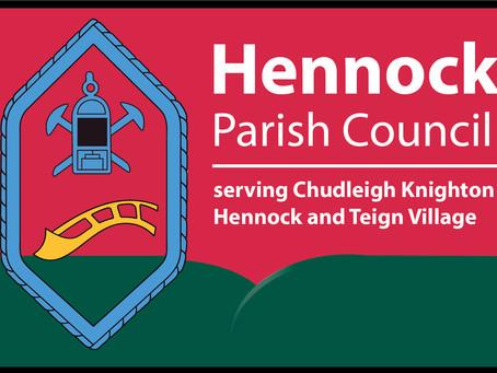 Hennock Parish Council News - May 2021