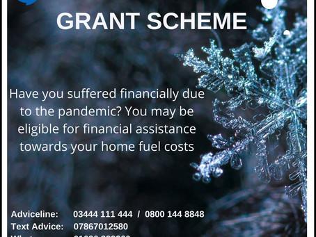 Covid Winter Grant Scheme