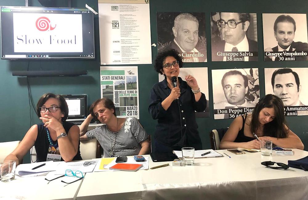 Daniela Cennamo presidente Slow Food Cilento