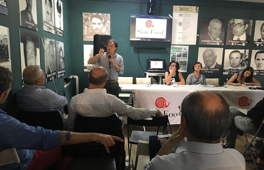 Nino Pascale intervento Congresso 2018