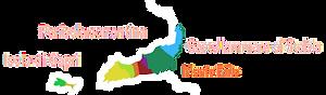 Monti Lattari e penisola sorrentina