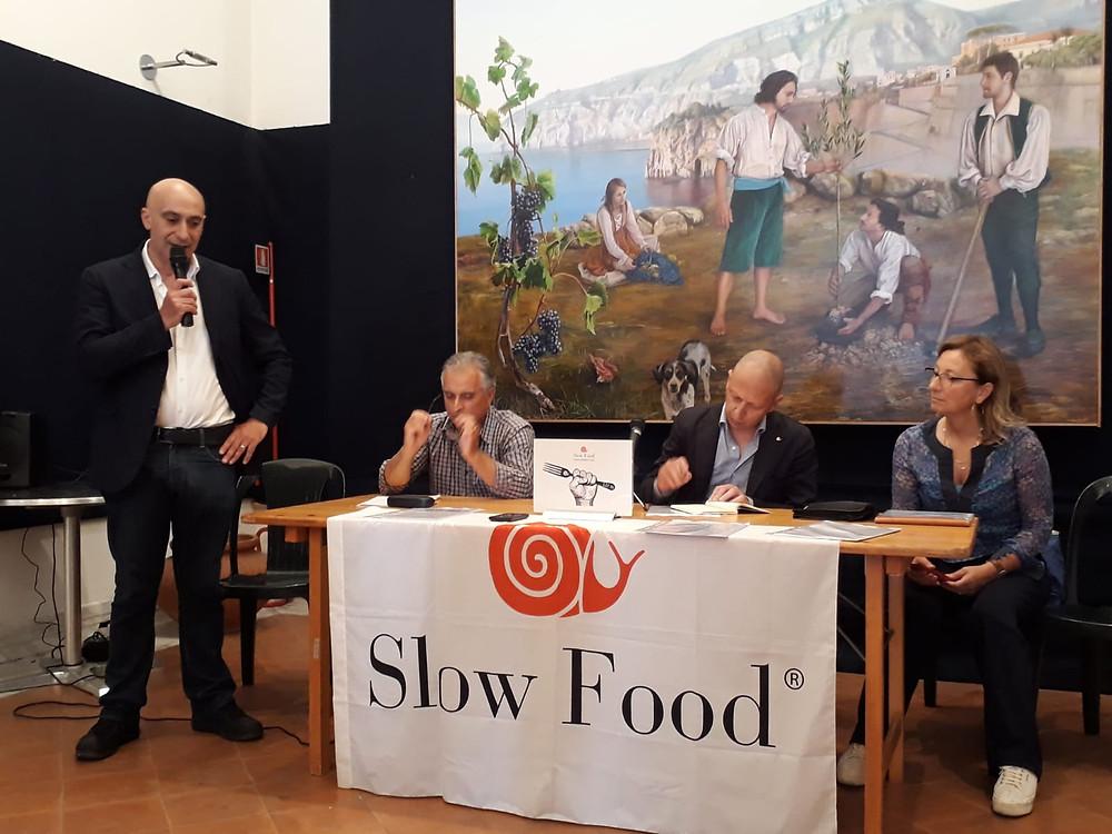 Tavolo relatori presentazione Presìdio della Noce