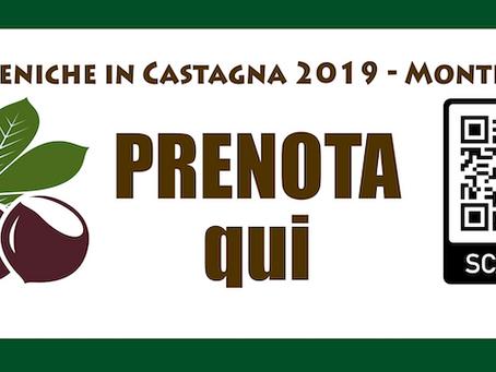 """PRENOTA PER FAITO 27 OTTOBRE """"LE DOMENICHE IN CASTAGNA"""""""