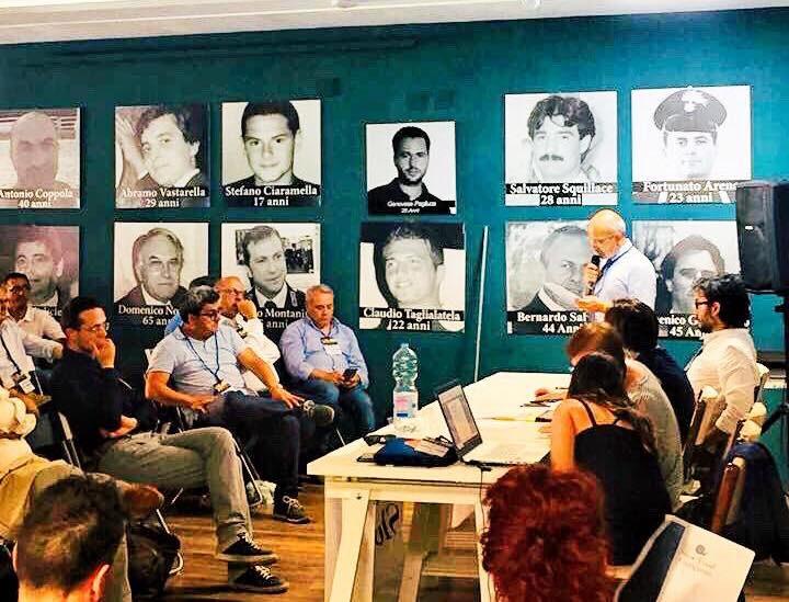 Giuseppe Orefice introduce presso NCO