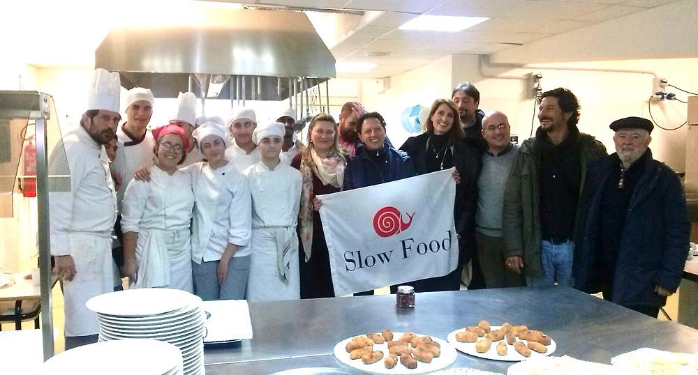 Slow Food con gli studenti dell'Axel Munthe