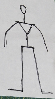 Disegno dello scheletro