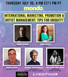 International Marketing, Promotion & Artist Management: Tips for Ubiquity Now