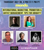 International Marketing, Promotion & Artist Management: Tips for Ubiquity Now