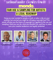 Fair Use & Sampling for Artists: A Legal Roadmap