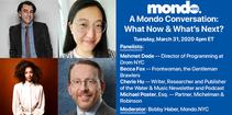 Mondo Zoom Conversation: What Now & What's Next?