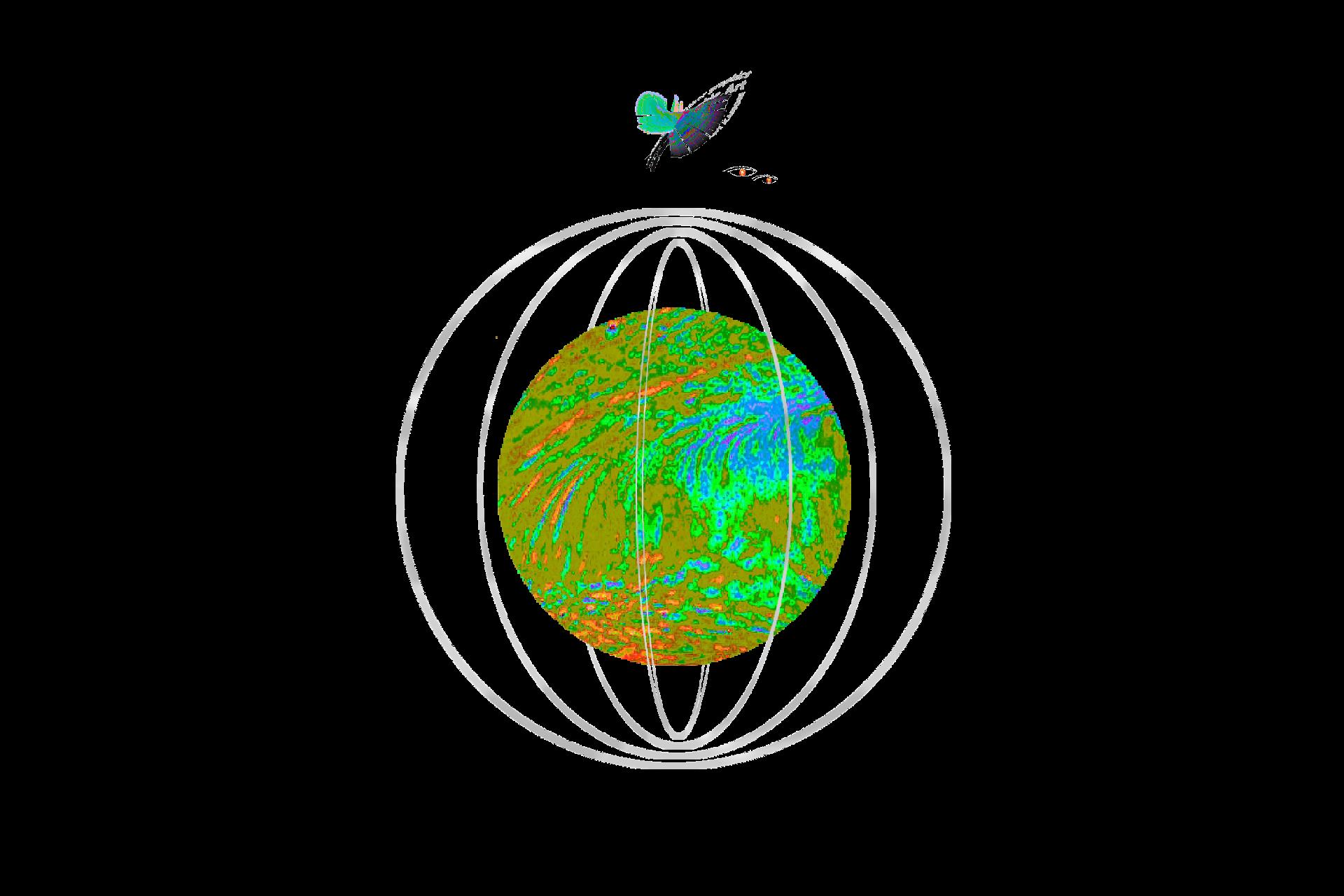 Creative Globes Levitation.