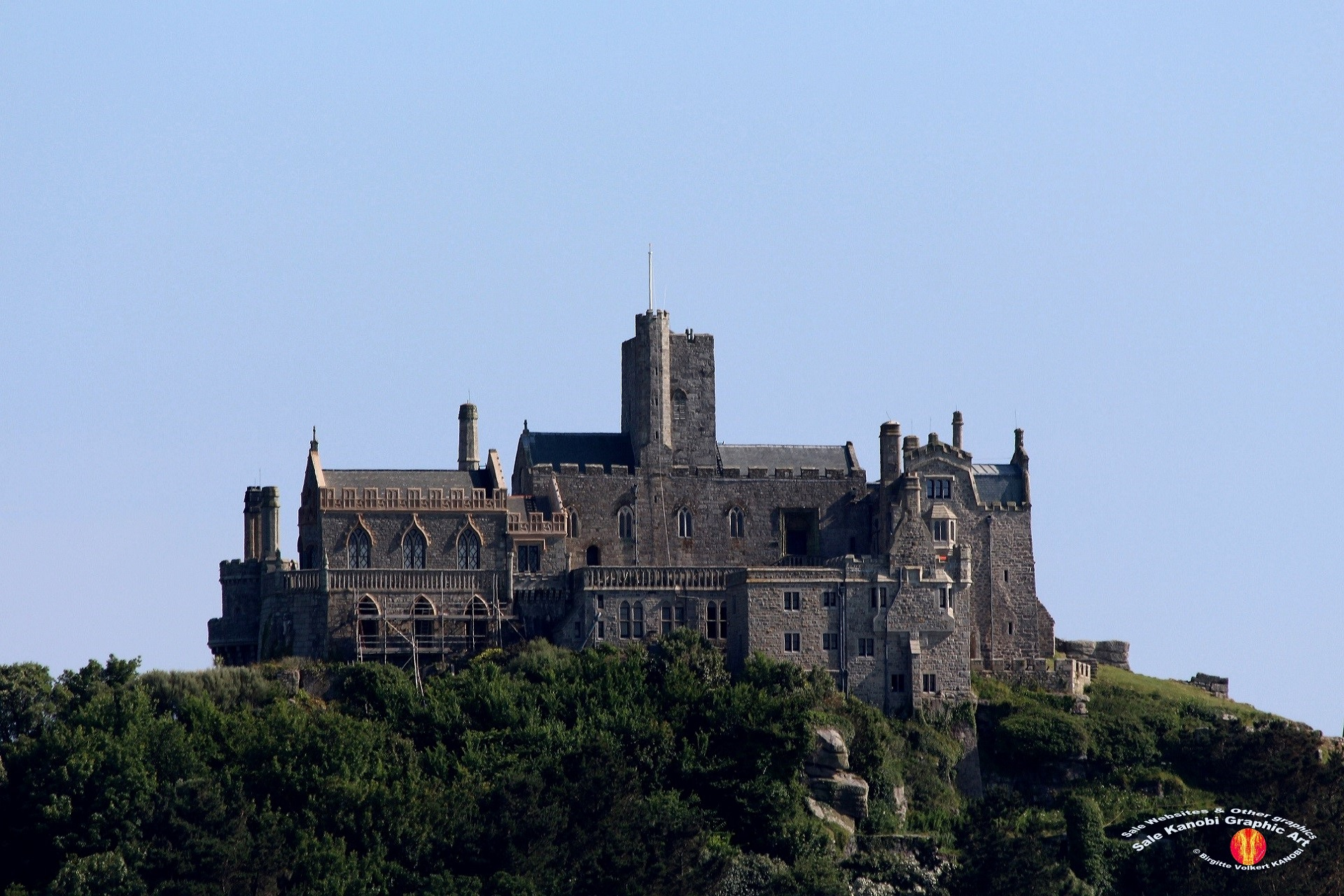 St. Michael's Mount 2 - South South East of St. Ives