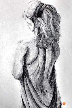 Study of the body A3.