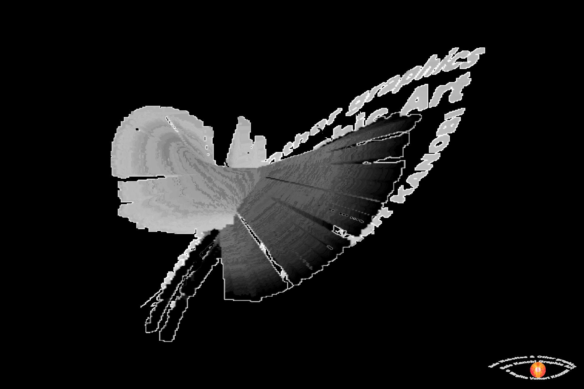 Bark Graphics - 3D logo's gray's