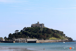 St. Michael's Mount 1 - South South East of St. Ives