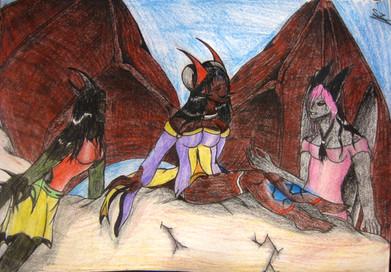 The Demon Trio!