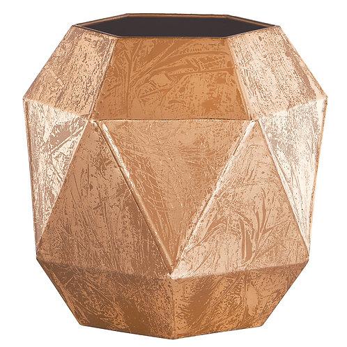 Vaso geométrico cobre REF 5557