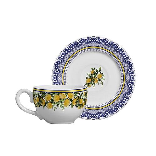 Xícara de Chá Capri (6 unidades)