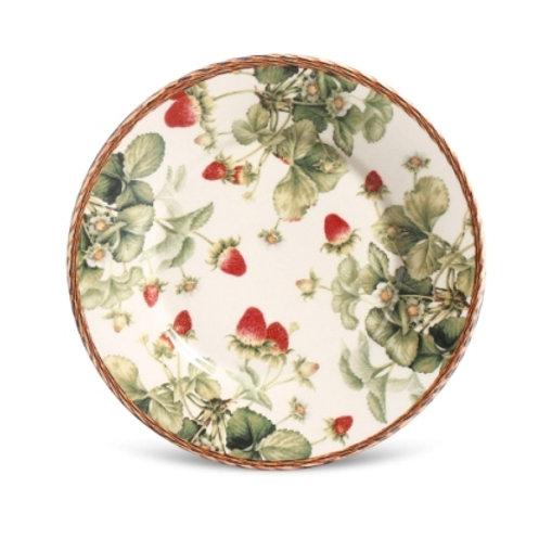 Prato de sobremesa Strawberry (6 unidades)