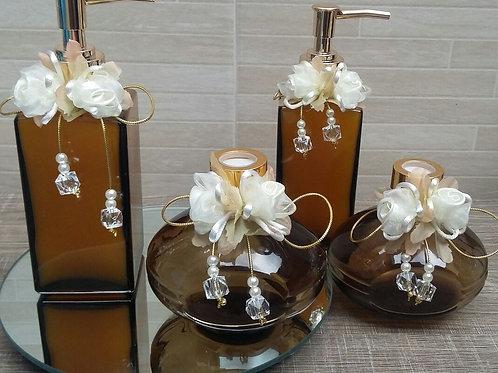 Conjunto de aromatizador & sabonete REF 0008