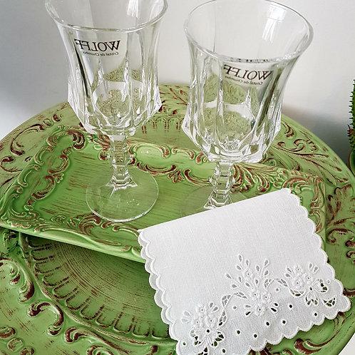 Taças para Vinho de cristal ecológico(6 unidades)