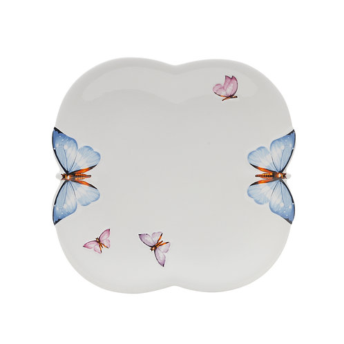 Butterfly - Jogo de 06 Pratos Rasos
