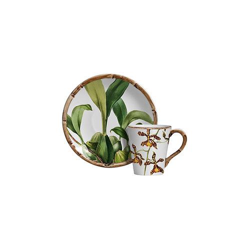 Xícara de Chá Orquídea (6 unidades)