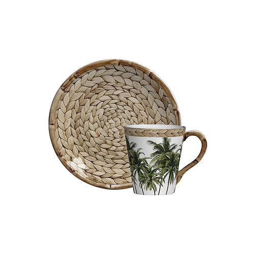 Xícara de Chá c/p Trancoso (6 Peças)