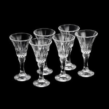 Taças para Licor de cristal ecológico (6 unidades)