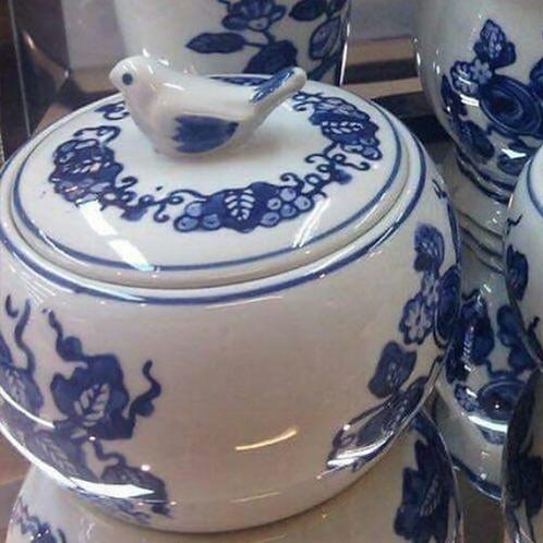 Pote de Porcelana Dinastia Ming (12 cm)
