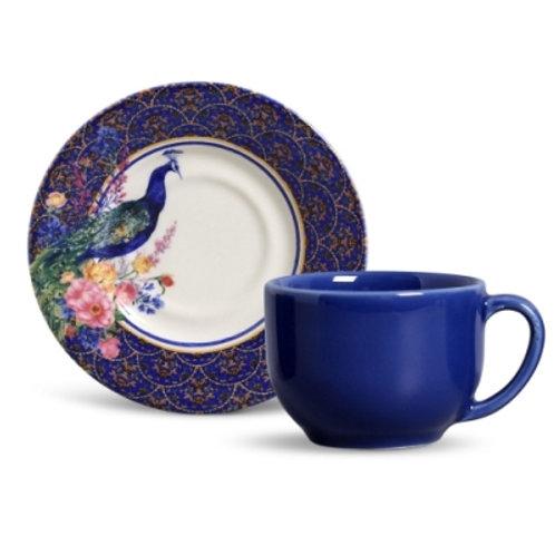 Xícara de Chá Pavone (6 unidades)