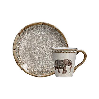 Xícara de Chá c/p Savanah (6 Peças)