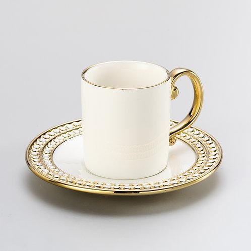 Xícara para Café Chame de porcelana (6 Peças)